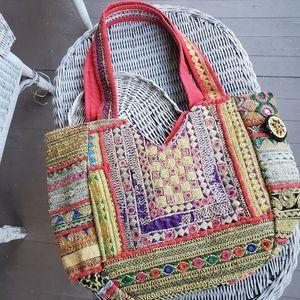 Banjara Boho Embroidered Hippie gypsy handmade Bag